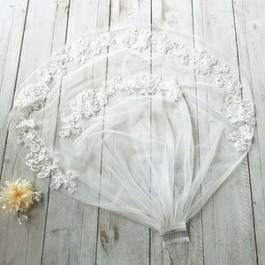 Other - *LAST ONE*Beautiful Wedding Veil New in Bag